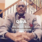 Q&A with Michael Blanchard, author The Black Book of Lamentations